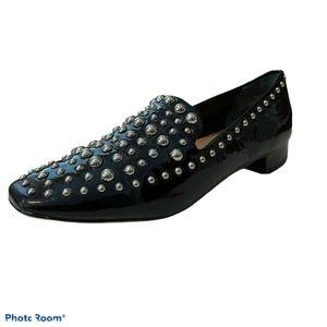 Halogen Kaylee Studded Loafer US 7.5M Black